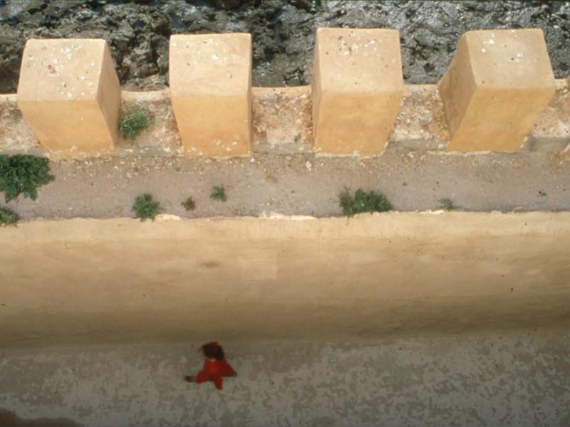 Dans les remparts d' Essaouira